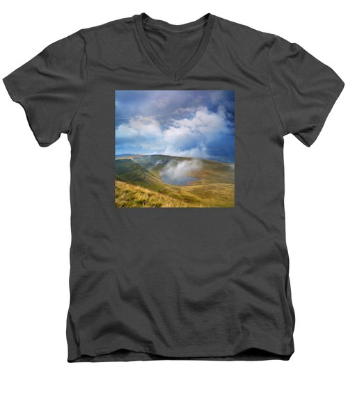 Brecon Beacons National Park 3 Men's V-Neck T-Shirt