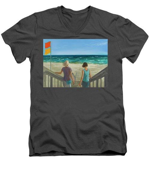Breeze Men's V-Neck T-Shirt