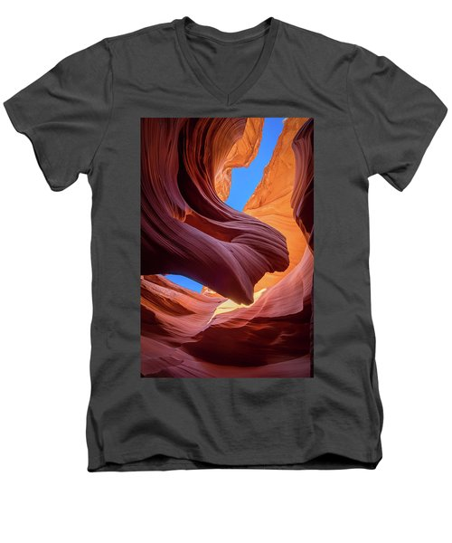 Breeze Of Sandstone Men's V-Neck T-Shirt