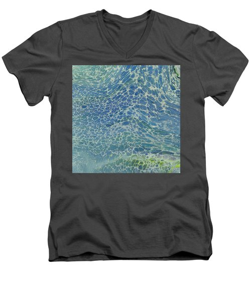 Breeze On Ocean Waves Men's V-Neck T-Shirt