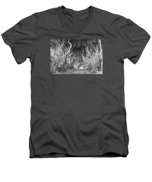 Bregagh Road Men's V-Neck T-Shirt by Juergen Klust