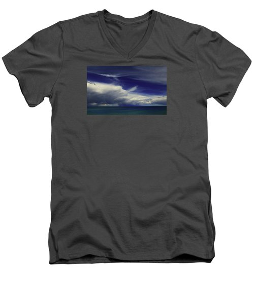 Brewing Up A Storm Men's V-Neck T-Shirt