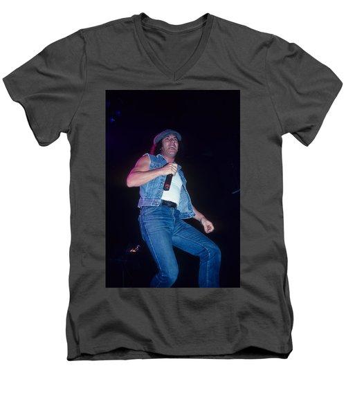 Brian Johnson Men's V-Neck T-Shirt