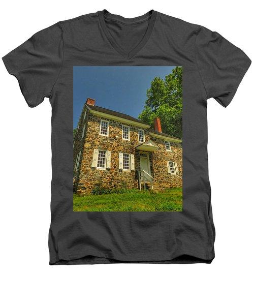 Bricks And Mortar Men's V-Neck T-Shirt