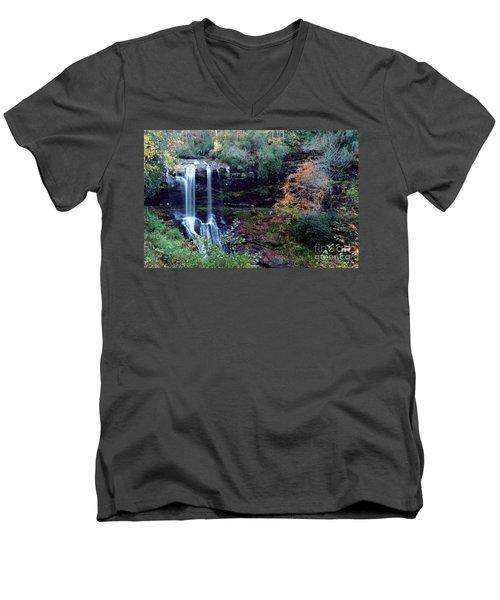 Bridal Veil Waterfalls Men's V-Neck T-Shirt