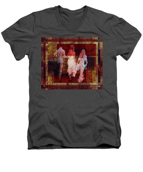 Bridal Walk Men's V-Neck T-Shirt