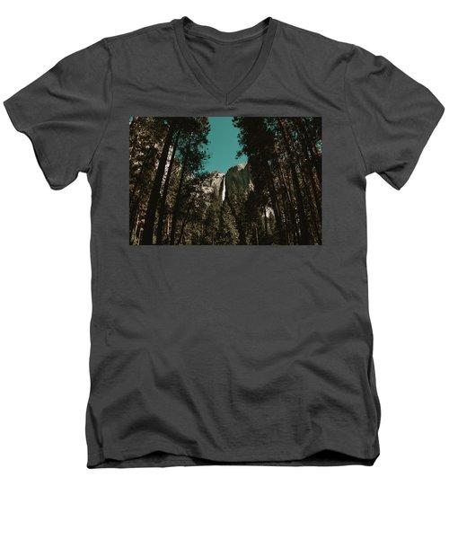 Bridalveil Falls Men's V-Neck T-Shirt