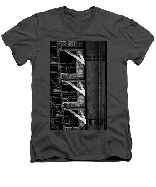 Bridge Dna Men's V-Neck T-Shirt