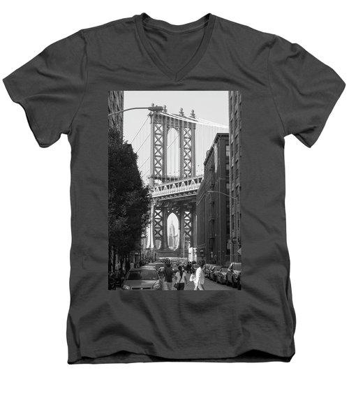bridge II Men's V-Neck T-Shirt