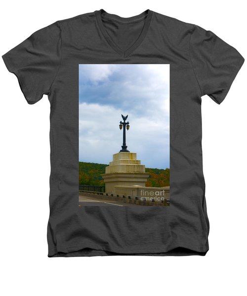 Bridge Lights Men's V-Neck T-Shirt