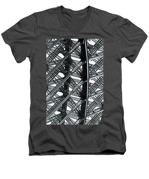 Bridge No. 7-1 Men's V-Neck T-Shirt