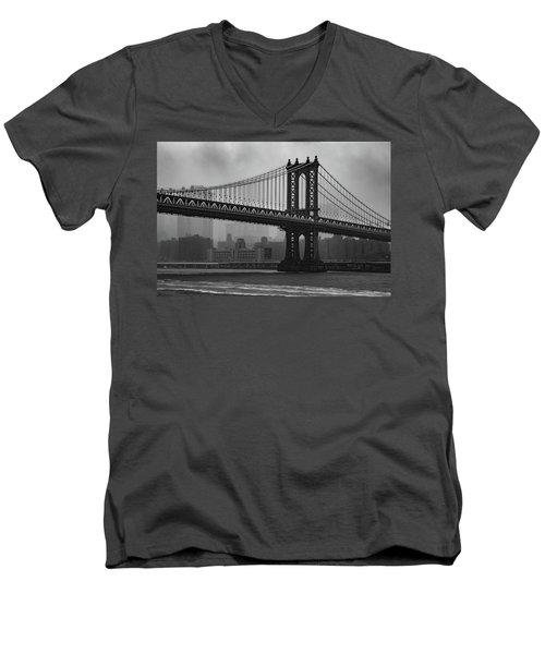 Bridge Over Troubled Water Men's V-Neck T-Shirt