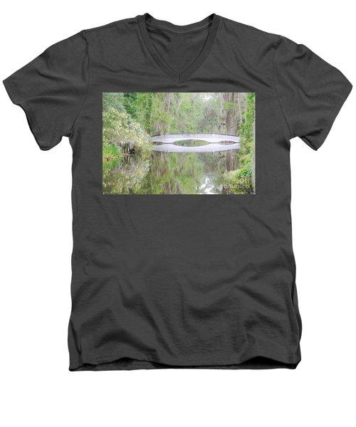 Bridge Over1 Men's V-Neck T-Shirt