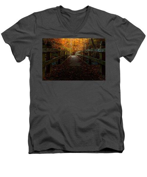 Bridge To Enlightenment Men's V-Neck T-Shirt