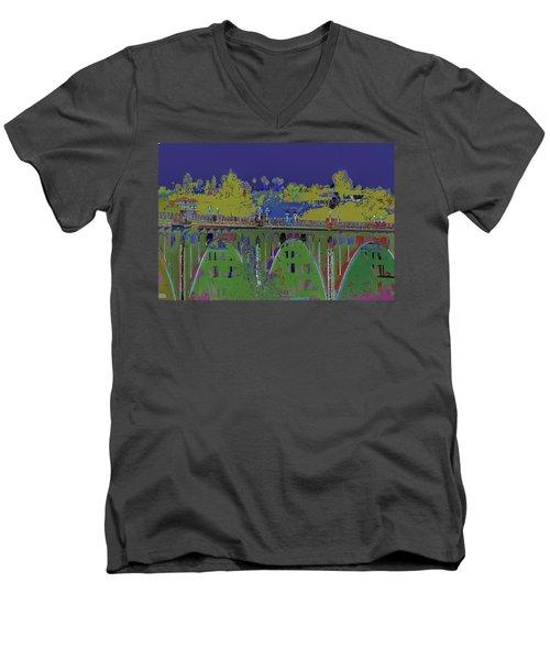 Bridge To Life Men's V-Neck T-Shirt