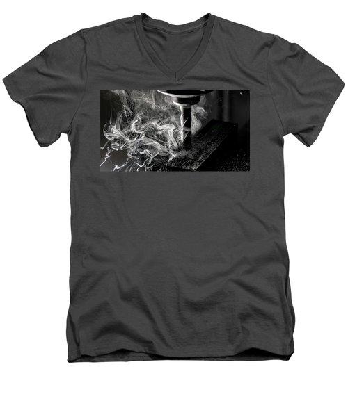 End Mill Men's V-Neck T-Shirt