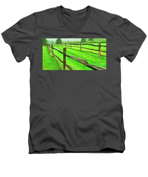 Bridle Trail Men's V-Neck T-Shirt