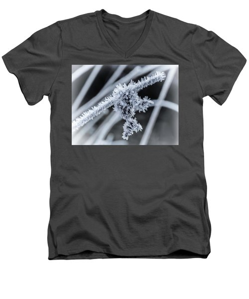 Men's V-Neck T-Shirt featuring the photograph Briefly Beautiful by Nick Bywater