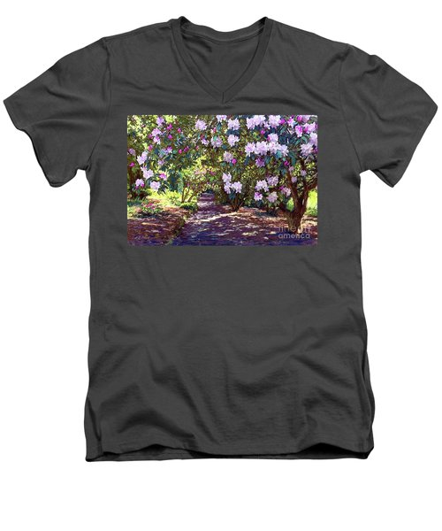 Bright And Beautiful Spring Blossom Men's V-Neck T-Shirt