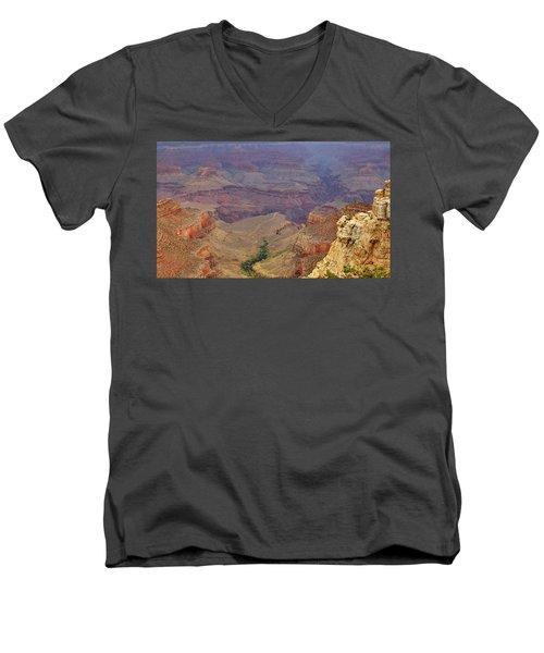 Bright Angel Trail Men's V-Neck T-Shirt