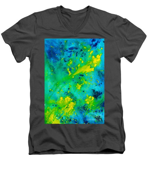 Bright Day In Nature Men's V-Neck T-Shirt