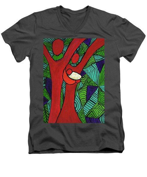 Bright New Day Men's V-Neck T-Shirt