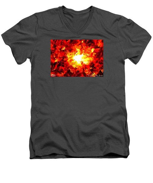 Brighter Than The Sun Men's V-Neck T-Shirt
