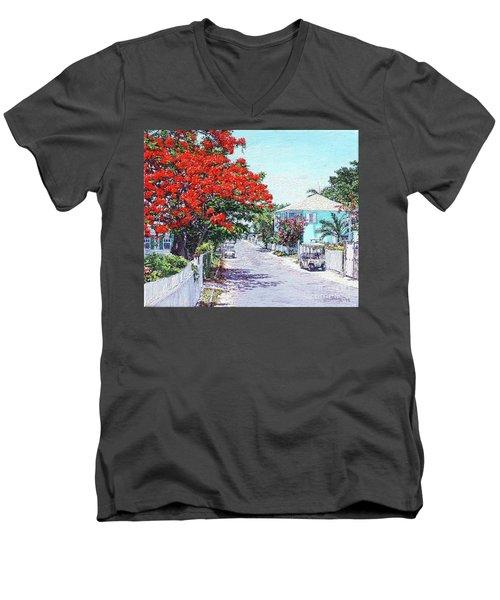 Briland Today Men's V-Neck T-Shirt