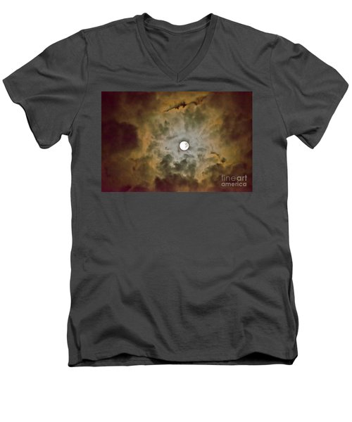 Brilliant Night Sky Men's V-Neck T-Shirt