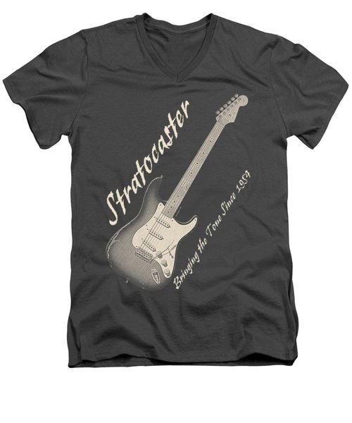 Bringing The Tone Strat Shirt Men's V-Neck T-Shirt