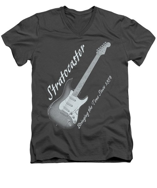Brining The Tone Strat Shirt 2 Men's V-Neck T-Shirt