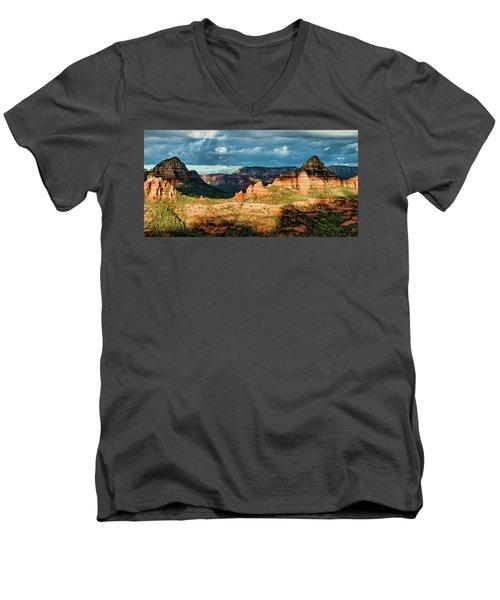 Brins Ridge 04-044pan N Men's V-Neck T-Shirt