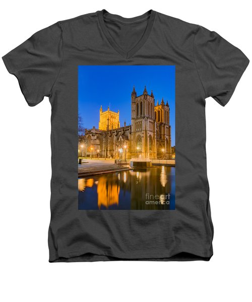 Bristol Cathedral Men's V-Neck T-Shirt