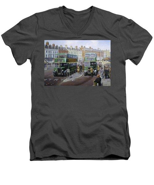 Bristols At Weymouth Men's V-Neck T-Shirt