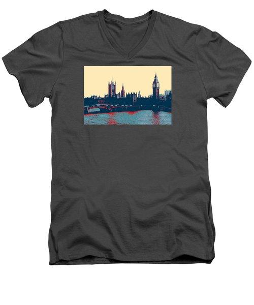 British Parliament Men's V-Neck T-Shirt