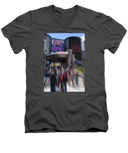 Britney Men's V-Neck T-Shirt