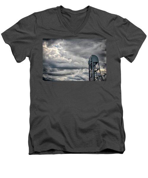 Broadway Bridge Hrd 3 Men's V-Neck T-Shirt