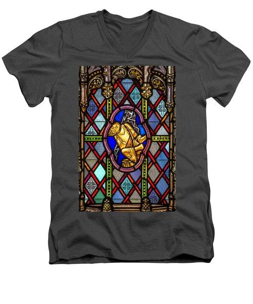 Broken Buddha Men's V-Neck T-Shirt