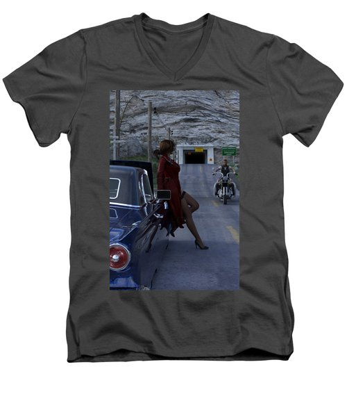 Broken Down Men's V-Neck T-Shirt