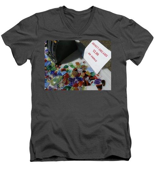 Broken Dreams For Sale Men's V-Neck T-Shirt