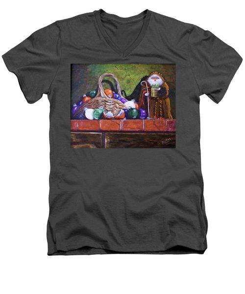 Broken Ornaments Men's V-Neck T-Shirt