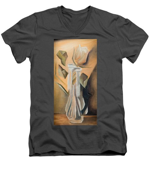 Broken Rose Men's V-Neck T-Shirt
