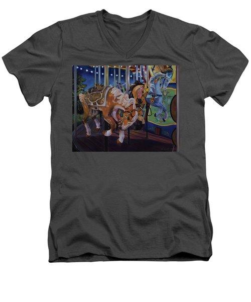 Bronc Busting 101 Men's V-Neck T-Shirt