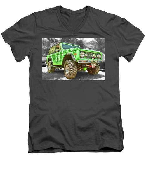 Bronco 1 Men's V-Neck T-Shirt