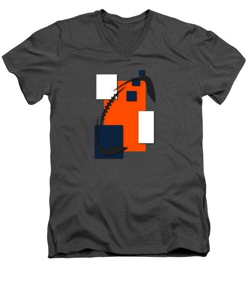 Broncos Abstract Shirt Men's V-Neck T-Shirt by Joe Hamilton