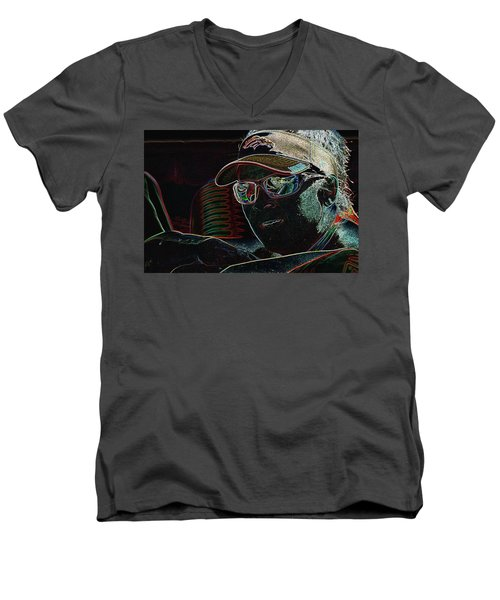 Broncos Fan Ge Men's V-Neck T-Shirt