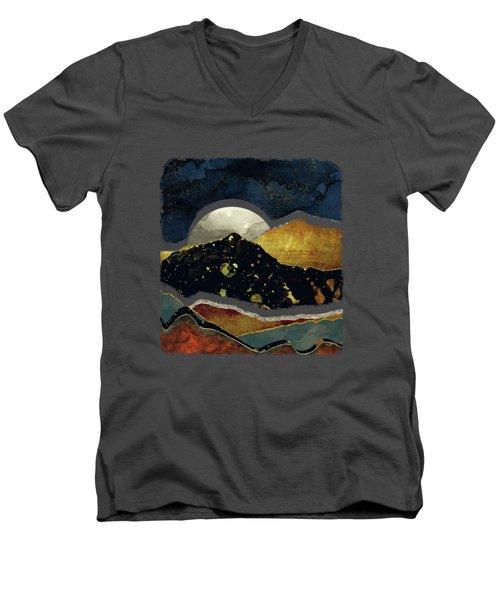 Bronze Night Men's V-Neck T-Shirt