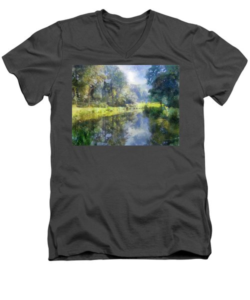 Brookside Men's V-Neck T-Shirt