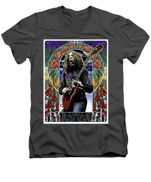 Brother Duane Men's V-Neck T-Shirt by Gary Kroman
