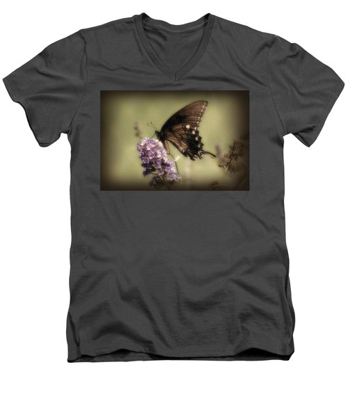 Brown And Beautiful Men's V-Neck T-Shirt